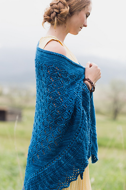 Squall Line Shawl by Rosemary (Romi) Hill