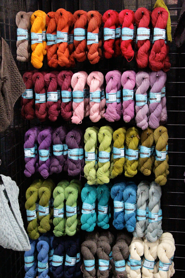 Himalayan Trail yarn by Bijou Basin Ranch in 25 colors