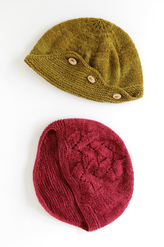 Delta Hat knitting pattern by Heidi Gustad from Hands Occupied #deltahatkal