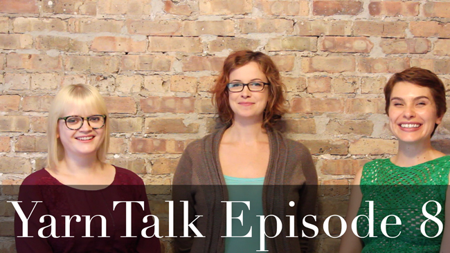 YarnTalk Episode 8 features an interview with Allyson Dykhuizen, tips on knitting with fine yarns & super dolman sleeves are trending!