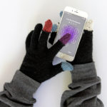 Easy DIY Touchscreen Gloves
