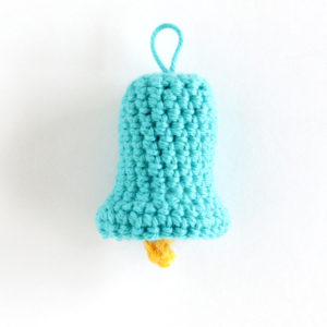 Crochet Bell Ornament – 12 Ornaments of Christmas