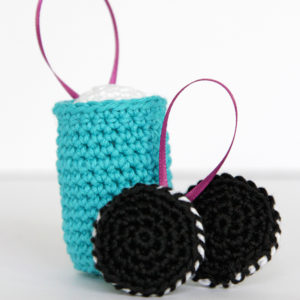 Crochet Milk & Cookies Ornaments – 12 Ornaments of Christmas