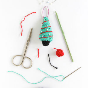 Crochet Christmas Tree – 12 Ornaments of Christmas