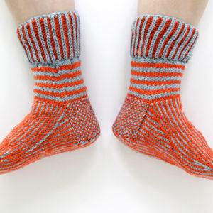 How to Knit a Short Row Heel Turn / Funkasonic KAL