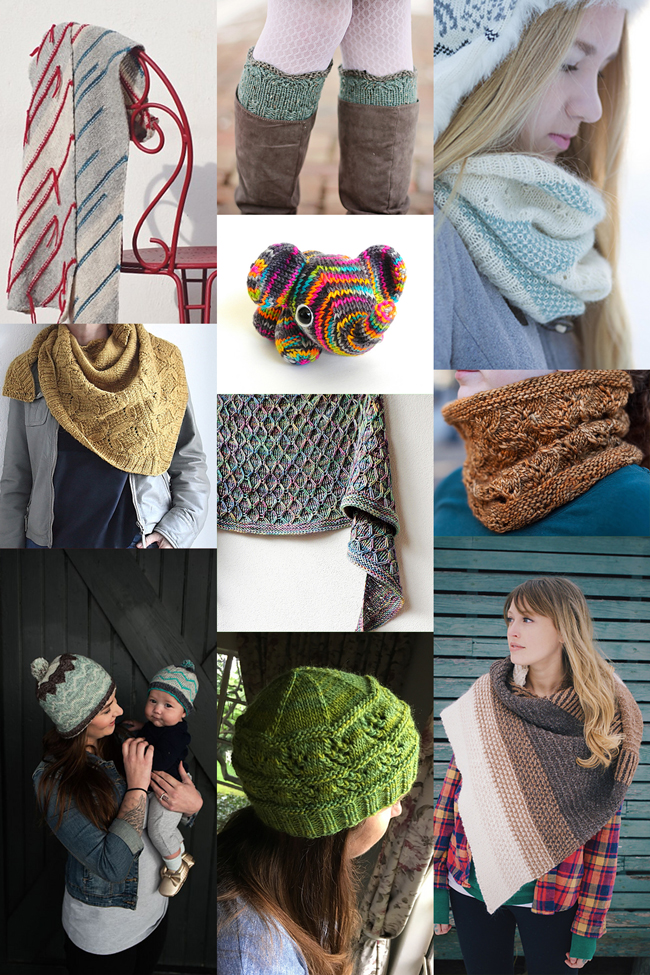 10 inspiring accessory patterns to knit this winter!