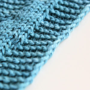How to Knit a Chain Edge