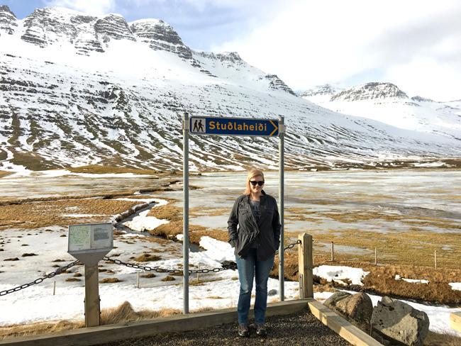 Heidi in Stuðalheiði, Iceland