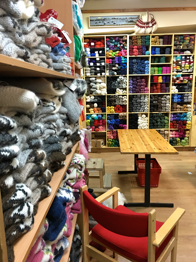The Handknitting Association of Iceland store in Reykjavik