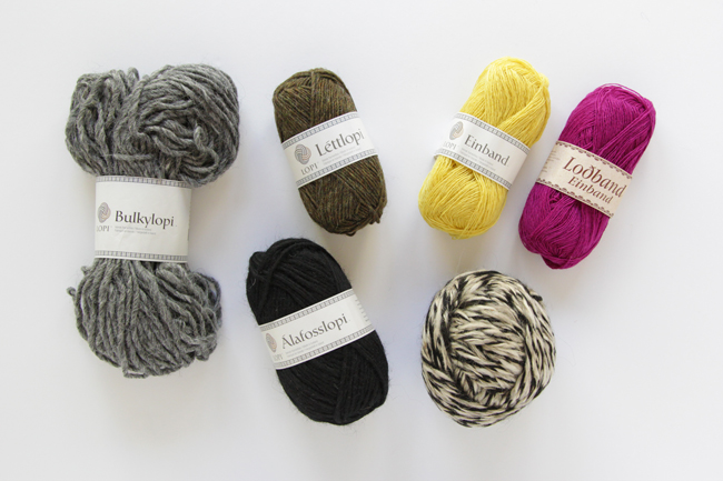Check out some of the yarn you can get your hands on in Iceland, and it's all wool!
