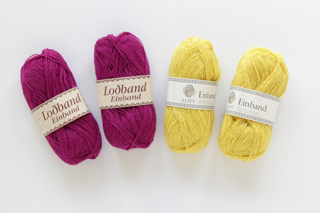 Lopi's Einband yarn is an amazing, 100% wool laceweight yarn, perfect for knitting shawls.