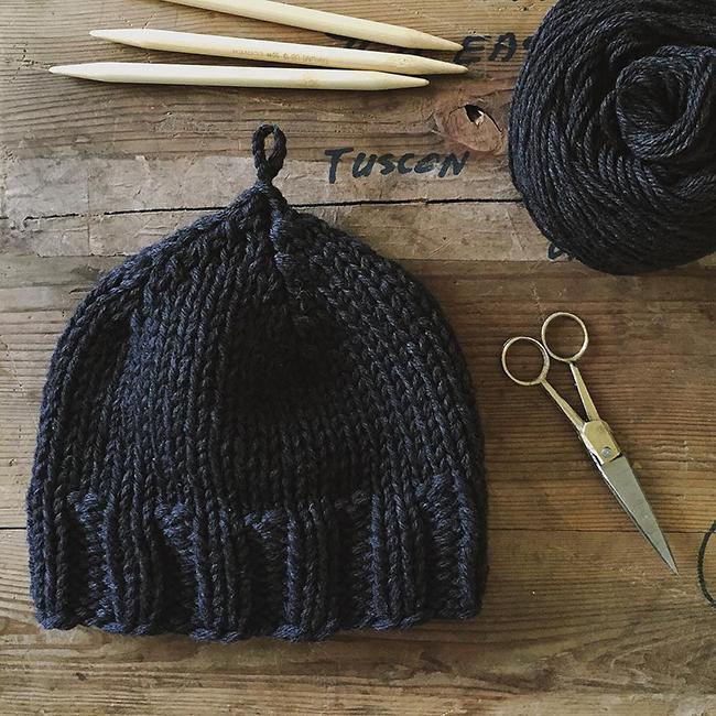 Plait Hat by Karen Templer
