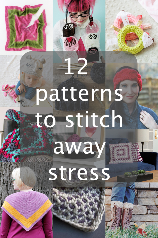Get your hands on these easy patterns to help you relax!