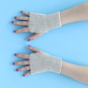 Feel Good Mitts by Heidi Gustad. Get your hands on the pattern for these skill-building and versatile hand warmers!