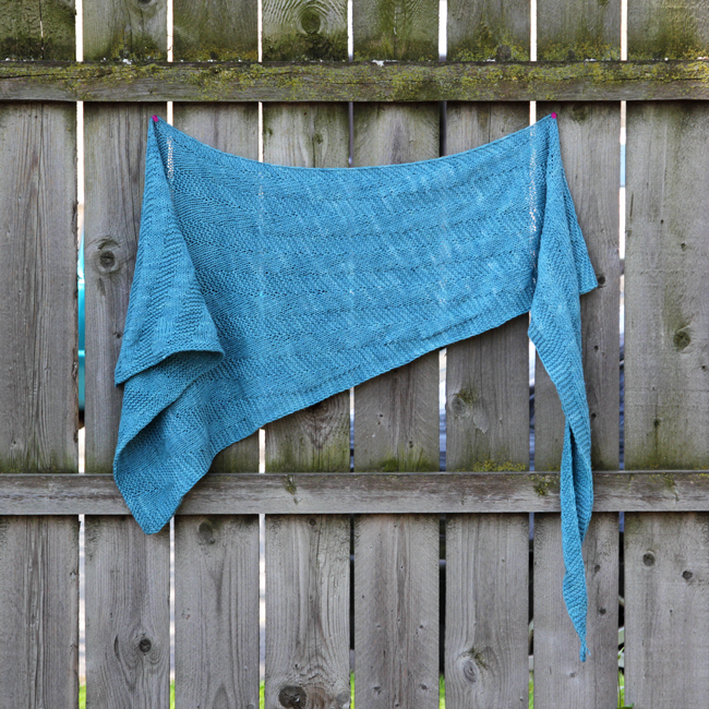 Meet the Sixth Degree Shawl. Cast on this gorgeous, free pattern designed with American made, ethically-sourced yarn!