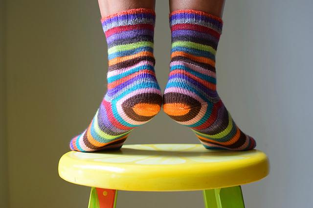 Smooth Operator Socks by Susan B. Anderson