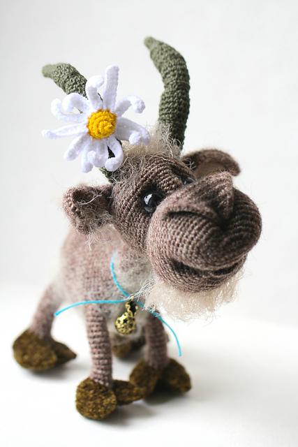 Goat Billy by Ermak Elena
