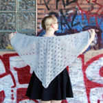Knit the Other People's Houses Shawl - this first time shawl-friendly free pattern is versatile and can be knit with any yarn.