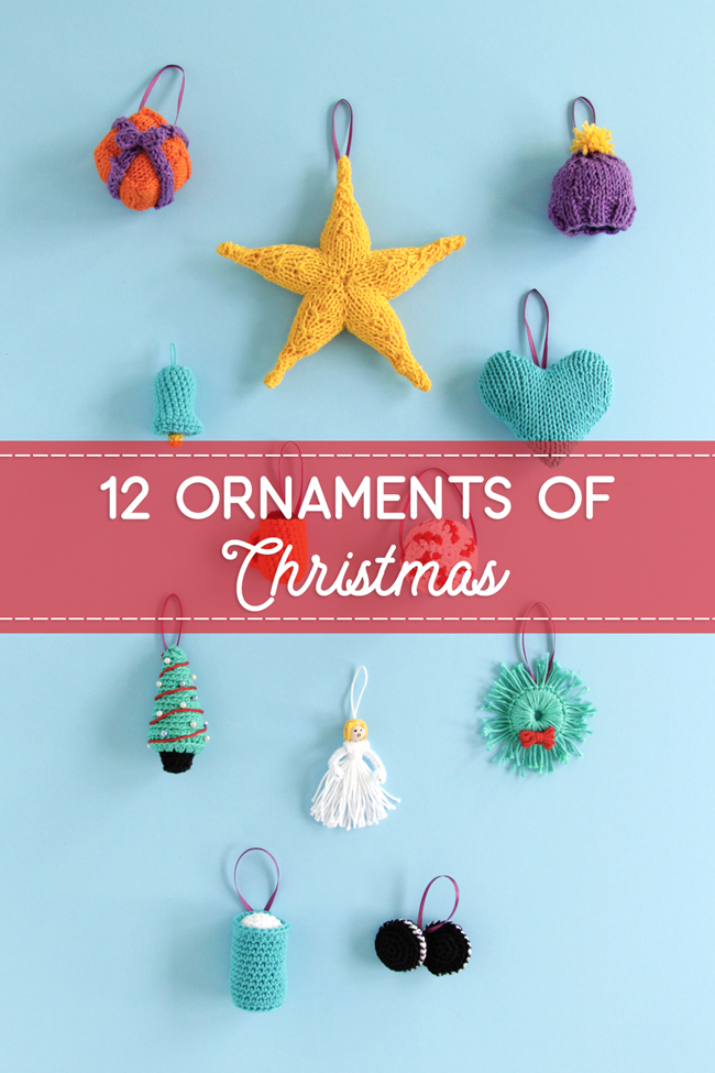 Knit or crochet some adorable ornaments to trim your tree! Join Hands Occupied this holiday season to make Christmas ornaments with free patterns all season along. Each ornament doubles as a great gift topper & stocking stuffer!