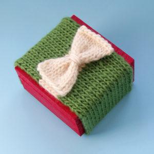 Knit Your Gift Wrap & #PHWinterWorkshop