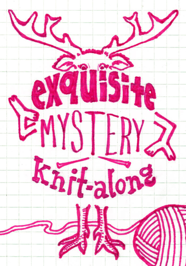 Join the Exquisite Mystery Knit Along starting January 1. Designed collaboratively by three designers: Heidi Gustad, Christopher Salas & Sarah Abram, this knit along is not to be missed!