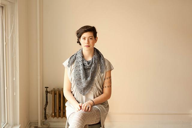 Haiku Crochet Shawl by Rebecca Velasquez