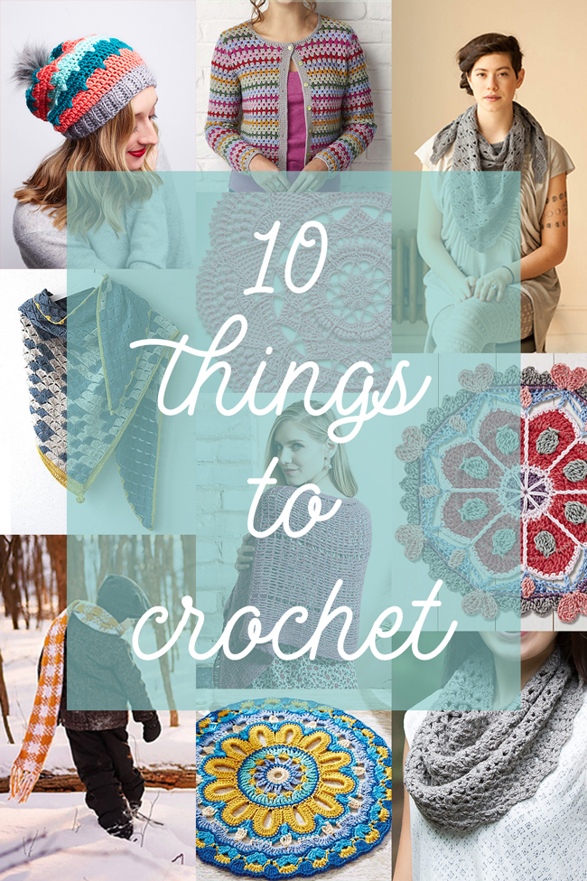 10 beautiful patterns to inspire your spring crocheting!