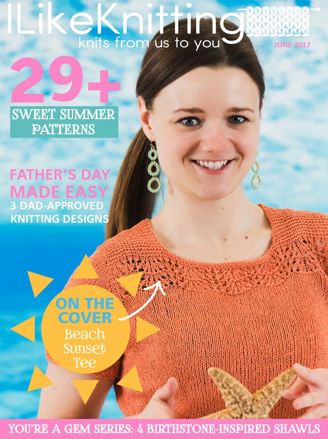 I Like Knitting magazine, June 2017