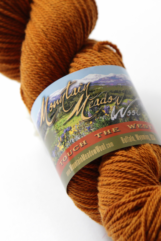 Learn all about Mountain Meadow Wool's Alpine yarn and enter to win a skein to try for yourself!