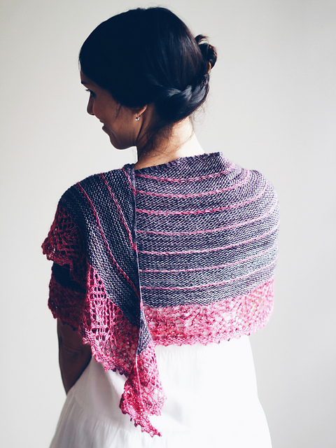 Ebba's Garden Shawl by Joji Locatelli