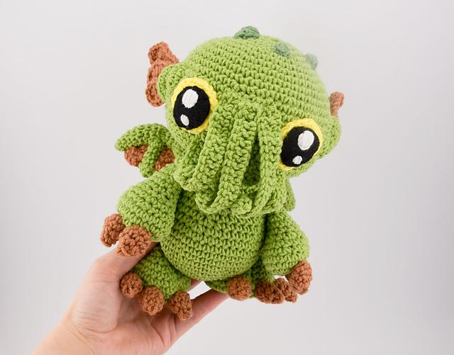 Cthulhu baby monster by Kamila Krawka Krawczyk