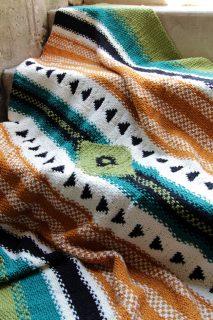 Arizona Afghan in I Like Knitting magazine