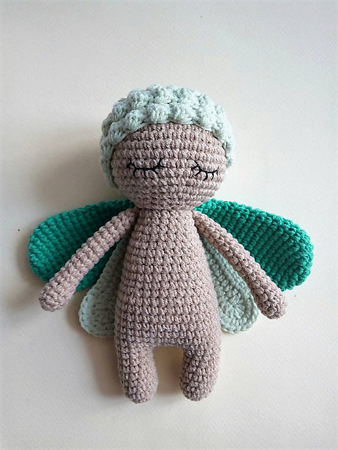 Grass Bug Doll by Nelly Handmade
