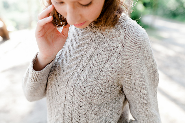Sauvabelin Sweater by Jessica Gore