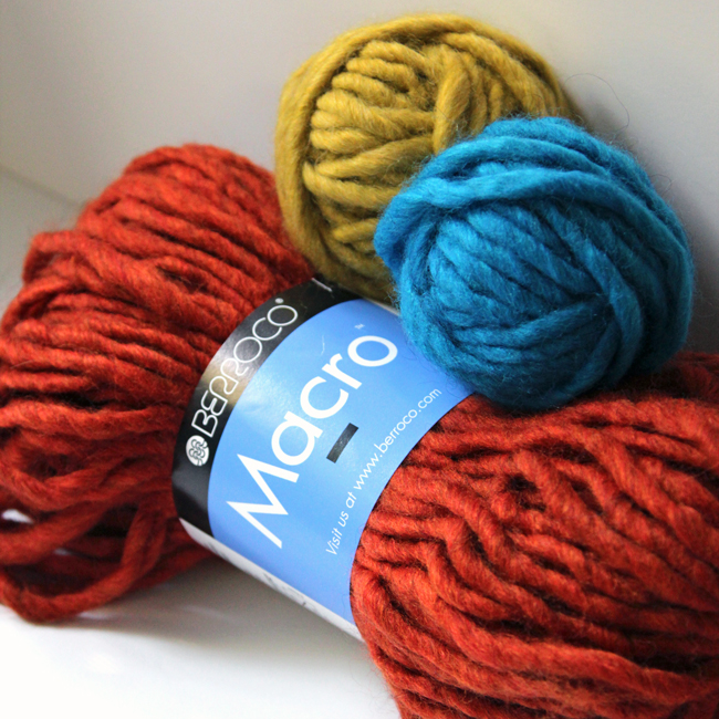 Berroco Macro is a jumbo yarn that makes chic, colorful knit & crochet projects super quick!