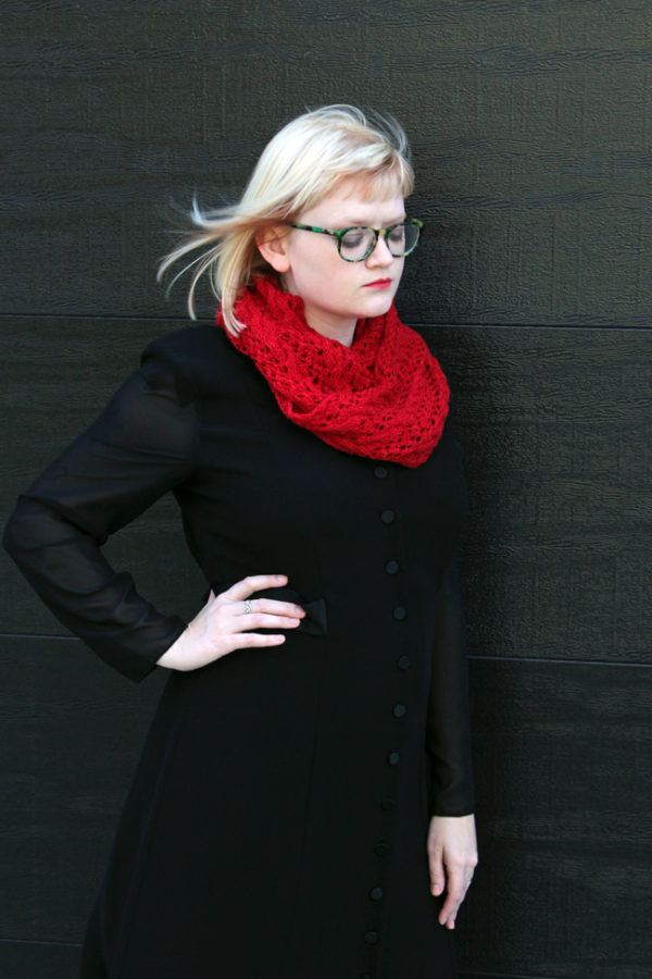 The Scarf of Dreams by Heidi Gustad - a mystery knit along design inspired by The Night Circus by Erin Morgenstern