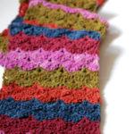 Scrap Scallops Scarf – Free Crochet Pattern