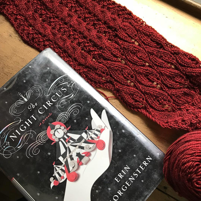 @zuezuesknots' The Scarf of Dreams