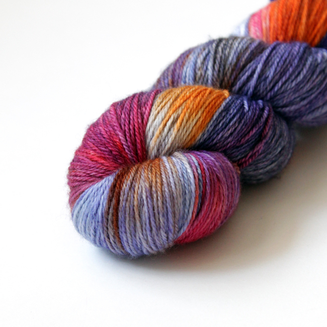 Zen Yarn Garden Magic Dye Pot Series - Yarn review & giveaway at Hands Occupied