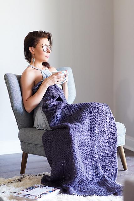 Luxurious Lap Blanket byKristina Smiley