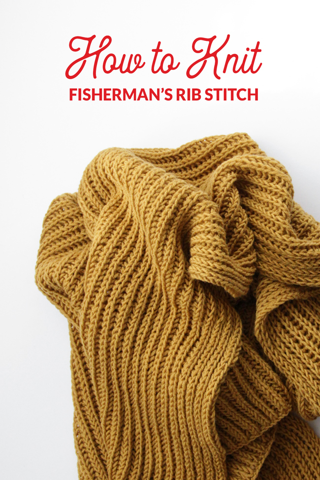 The Fisherman's Rib Stitch is a great alternative to knitting brioche because it results in a fluffy, dimensional finished fabric, but it's a bit easier to knit.Learn all about how to knit Fisherman's Rib, plus learn how to fix mistakes when they crop up, in two great video tutorials.