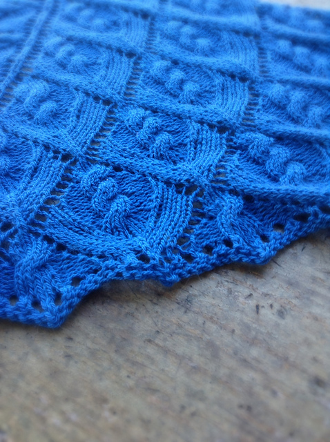 Okemo Shawl by Tian Connaughton from Vacation Knits, Vol. 1